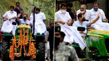 'ट्रैक्टर पर एक्टर' बनने की कोशिश कर रहे हैं राहुल गांधी, BJP नेता प्रहलाद जोशी ने कांग्रेस पर बोला हमला