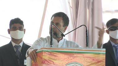 Assembly Elections: राहुल ने न्याय योजना से मतदाताओं को रिझाया, हर गरीब को छह हजार रुपये प्रति माह देने का वादा किया