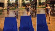 Monalisa Bikini Video: भोजपुरी हॉट एक्ट्रेस मोनालिसा ने पानी में आग लगाने वाला वीडियो किया शेयर, अकेले में देखे