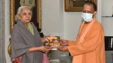 Uttar Pradesh: सीएम योगी आदित्यनाथ ने राज्यपाल आनंदीबेन पटेल से की मुलाकात, ट्वीट कर दी जानकारी
