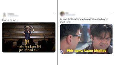 'Einstein Chacha' Funny Memes & Jokes: बागपत चाट वायरल वीडियो में विचित्र नारंगी बालों वाले चचा का मीम्स और जोक्स वायरल, देखें मजेदार रिएक्शन्स