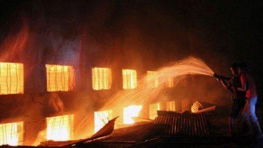 Chhattisgarh: छत्तीसगढ़ के अस्पताल में आग लगने की घटना की जांच के आदेश