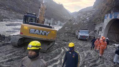 Uttarakhand Tragedy: तपोवन सुरंग में छठवें दिन भी रेस्क्यू ऑपरेशन जारी; अब तक 36 शव बरामद, 2 लोग मिले जीवित, 204 लापता