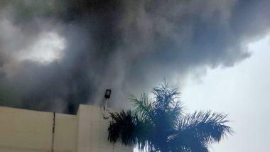 Pune Fire: महाराष्ट्र के पुणे स्थित सनसवाड़ी इलाके की फैक्ट्री में लगी भीषण आग, दमकल की छह गाडियां मौके पर पहुंची