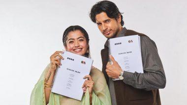 Rashmika Mandana ने हिंदी डेब्यू फिल्म 'मिशन मजनूं' की शूटिंग पूरी की