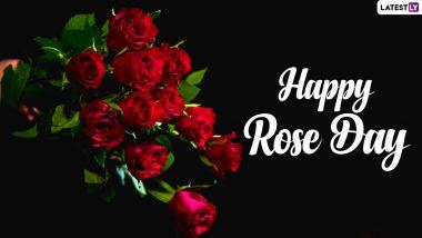 Happy Rose Day 2021: रोज डे पर अपने पार्टनर को भेजें ये WhatsApp Status, GIF Greetings, Quotes, Rose Flower HD Photos और रोमांटिक शायरी