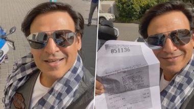 Vivek Oberoi की बाइक का कटा चालान, एक्टर ने फनी वीडियो बनाकर दी खास नसीहत