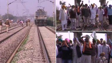 Farmers 'Rail Roko': पंजाब में कई जगहों पर किसानों ने रेल रोकी, दिल्ली-यूपी और बिहार में भी किसान आंदोलन का असर