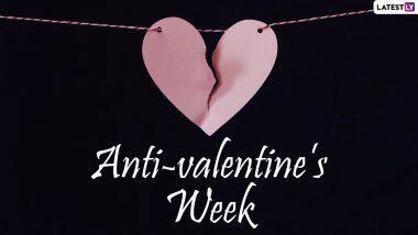 Anti-Valentine's Week 2021: लव फेस्टिवल के बाद अब मनायें एंटी वैलेंटाइन वीक, यहां देखें पूरी लिस्ट