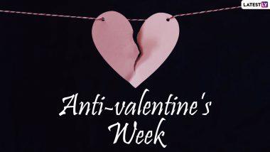 Anti-valentine's Week 2021: वैलेंटाइन वीक से हो गए हैं बोर तो 15 से 21 फरवरी तक मनाएं एंटी-वैलेंटाइन वीक, जानें किस तारीख को मनाया जाएगा कौन सा डे?
