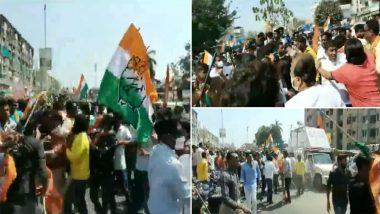 Vadodara: निगम चुनाव प्रचार के अंतिम दिन भिड़े BJP-कांग्रेस कार्यकर्ता, देखें Video