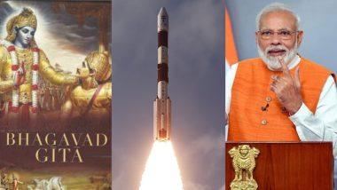 सतीश धवन सैटेलाइट से अंतरिक्ष में भेजी जाएगी भगवद गीता और पीएम मोदी की तस्वीर, 28 फरवरी को ISRO करेगा लॉन्च