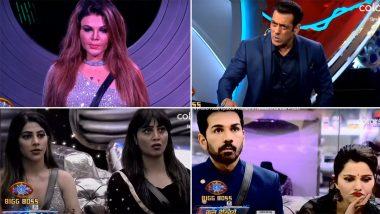 Bigg Boss 14: Rakhi Sawant की हरकतों पर भड़के Salman Khan ने दे दी शो छोड़ने की नसीहत, कहा- भा** में गया कंटेंट (Watch Video)