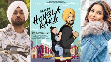 Diljit Dosanjh संग फिल्म 'Honsla Rakh' में नजर आएंगी Shehnaaz Gill,देखें फिल्म का ये दिलचस्प First Poster