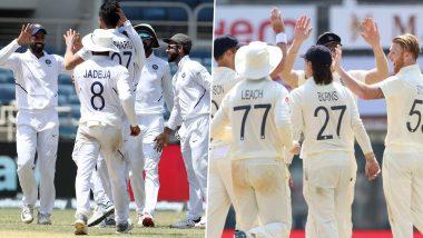 Ind vs Eng 4th Test 2021:  इंग्लैंड के चाय तक पांच विकेट पर 144 रन