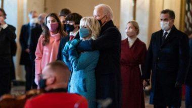 Valentine's Day 2021: अमेरिकी राष्ट्रपति जो बाइडेन ने खास अंदाज में मनाया वैलेंटाइन डे, पत्नी जिल के साथ प्यारी तस्वीर शेयर कर कही ये बात