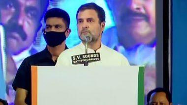 इंदौर में मास्क नहीं पहनने वाले शख्स की पिटाई पर राहुल गांधी वीडियो शेयर कर कहा, इस तरह की शर्मनाक अमानवीयता मंजूर नहीं