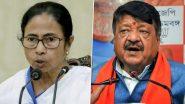 West Bengal Assembly Election 2021: बंगाल चुनाव की तारीखों का ऐलान होते ही सियासी बयानबाजी हुई तेज, ममता बनर्जी ने कसा तंज तो कैलाश विजयवर्गीय ने दी ये प्रतिक्रिया