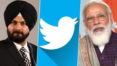 Twitter Censorship: कांग्रेस नेता नवजोत सिंह सिद्धू का केंद्र पर तंज, कहा-कैसे लिखूं , हाथ तानाशाह की पकड में है