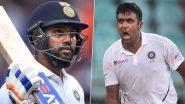 ICC Test Player Rankings: आईसीसी की ताजा टेस्ट रैंकिंग में रोहित शर्मा और अश्विन का जलवा, देखें खिलाड़ियों की पूरी लिस्ट