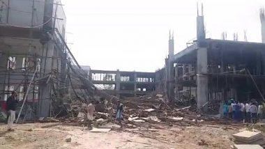तेलंगाना में निर्माणाधीन कलेक्टर ऑफिस का सेंट्रिंग स्ट्रक्चर गिरा, 9 मजदूर घायल