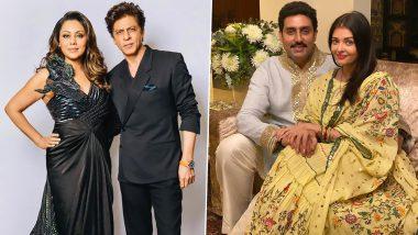 Shah Rukh Khan-Gauri Khan से लेकर Aishwarya Rai-Abhishek Bachchan तक, Bollywood के इन कपल्स को आदर्श मानते हैं फैंस, देखें पूरी लिस्ट