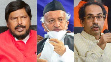 महाराष्ट्र में राज्यपाल को सरकारी हेलीकॉप्टर इस्तेमाल की अनुमति न देने को लेकर सियासत शुरू, रामदास अठावले बोले-सीएम को माफी मांगनी चाहिए