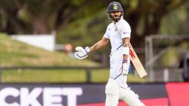 ICC WTC Final 2021: फाइनल मुकाबले से पहले भारतीय कप्तान विराट कोहली ने नेट्स पर जमकर बहाया पसीना