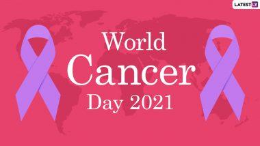 World Cancer Day 2021 Quotes and HD Images: विश्व कैंसर दिवस पर अपने प्रियजनों को यह कोट्स और स्लोगन भेजकर घातक बीमारी के प्रति करें जागरूक