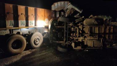 Andhra Pradesh Accident: कुरनूल जिले में बस और ट्रक के बीच जबरदस्त भिडंत, हादसे में 13 की मौत और 4 घायल