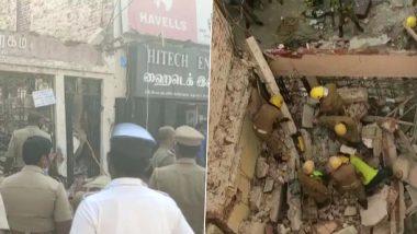 Tamil Nadu Building Collapse: तमिलनाडु के मदुरै में दो मंजिला इमारत गिरी, 3 लोगों की मौत, कई जख्मी