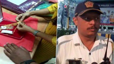 Mumbai Police को सलाम: ऑटो में महिला से छूटा कैश और 35 तोले सोने से भरा बैग, ट्रैफिक पुलिस के जवान ने वापस लौटाया