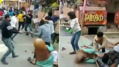 Viral Video: यूपी के बागपत में चाट के लिए ग्राहकों को लुभाने की कोशिश में दो दुकानदारों में हुई मारपीट, जमकर चले लाठी डंडे