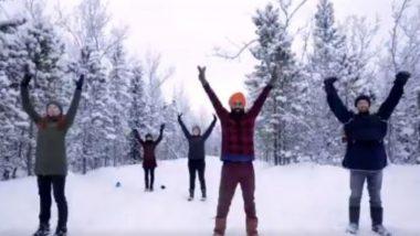कनाडा में बर्फ पर लोगों ने जमकर किया भांगड़ा, वायरल वीडियो देख आपके कदम भी लगेंगे थिरकने (Watch Viral Video)