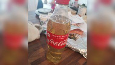 Urine in Coke Bottle: UK में खाने के ऑर्डर के साथ ग्राहक को परोसा गया पेशाब से भरा बोतल, तस्वीर वायरल होने पर मील-किट कंपनी ने मांगी माफी