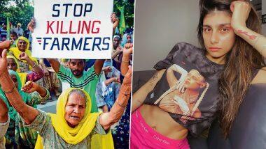 Ex- Pornstar Mia Khalifa आई किसान आंदोलन के सपोर्ट में, ट्वीट करके लिख दी ये बात