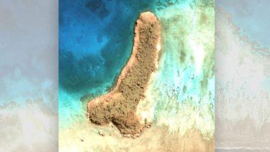 Penis Shaped Island: गूगल अर्थ पर महिला को दिखा पुरुषों के लिंग के आकार वाला द्वीप, प्रशांत महासागर के मध्य में है स्थित