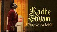 Radhe Shyam: प्रभास ने अपनी फिल्म 'राधे श्याम' के किरदार के बारे में खुल कर की बात, यहां पढ़ें पूरी खबर