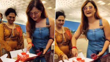 Rashami Desai Turns 34: रश्मि देसाई को जन्मदिन पर मीडिया ने दिया स्पेशल सरप्राइज, सामने आया ये दिलचस्प Video