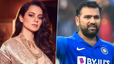 Kangana Ranaut ने रोहित शर्मा पर कसा तंज, कहा- धोबी का कुत्ता घर का न घाट का