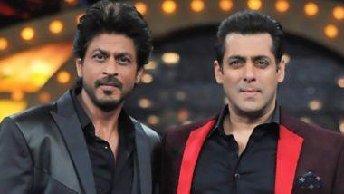 Salman Khan और Shah Rukh Khan ने मुंबई में शुरू की फिल्म 'पठान' की शूटिंग, देखें Photos