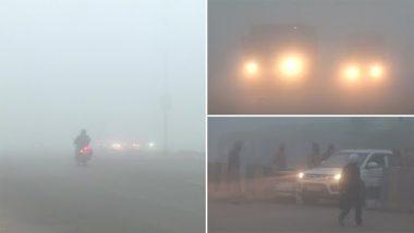 Weather Update: दिल्ली एनसीआर, सिंघू बॉर्डर सहित कई इलाकों में कोहरे की मोटी चादर देखी गई