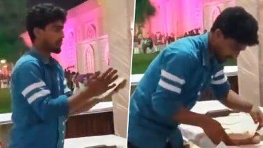 Viral Video: थूककर रोटियां बनाने वाले शख्स का वीडियो वायरल, सोशल मीडिया पर लोगों ने जमकर लगाई फटकार