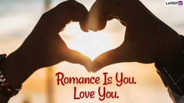 Valentine's Day 2021 Wishes: वैलेंटाइन डे पर गर्लफ्रेंड या बॉयफ्रेंड को भेजें 'I Love You' वाले ये WhatsApp Stickers, HD Images, GIF Greetings और वॉलपेपर्स