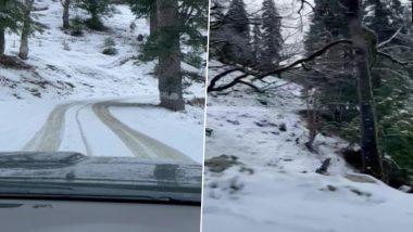 Weather Updates: शिमला में हुई जरदस्त बर्फबारी, देश में कहीं गर्मीं तो कहीं ठंड से लोगों का हाल बेहाल