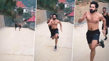फिल्म भेड़िया के सेट पर जमकर पसीना बहा रहे हैं Varun Dhawan, दौड़ते हुए वीडियो किया शेयर