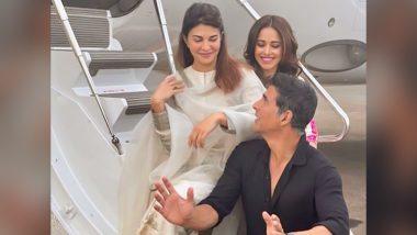 Ram Setu के मुहूर्त शॉट के लिए Akshay Kumar पूरी टीम के साथ अयोध्या हुए रवाना, शेयर की खास फोटो