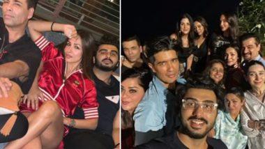 Arjun Kapoor और Malaika Arora ने Amrita Arora की हाउस पार्टी में जमकर मचाया धमाल, देखें ये Inside Photos