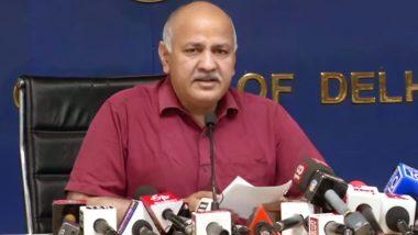 उपमुख्यमंत्री मनीष सिसोदिया ने उपराज्यपाल अनिल बैजल को लिखा पत्र, कहा- दिल्ली सरकार के मामलों पर फैसला न लें