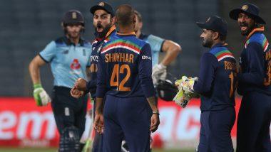 Ind vs Eng 3rd ODI 2021: घरेलू मैदान पर इंग्लैंड के खिलाफ टीम इंडिया ने सातवीं बार ODI सीरीज पर जमाया कब्जा, गेंदबाजों का रहा महत्वपूर्ण योगदान